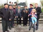 Организатор мероприятия - Щаблыкин М.И. с ветеранами