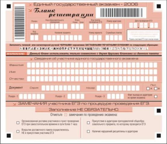 русский задание на егэ